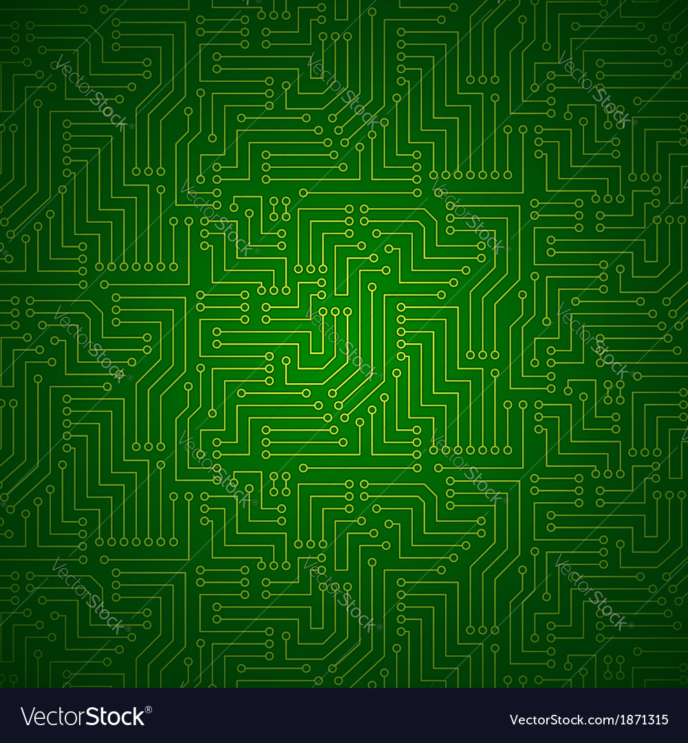 Shining printed circuit board vector | Price: 1 Credit (USD $1)