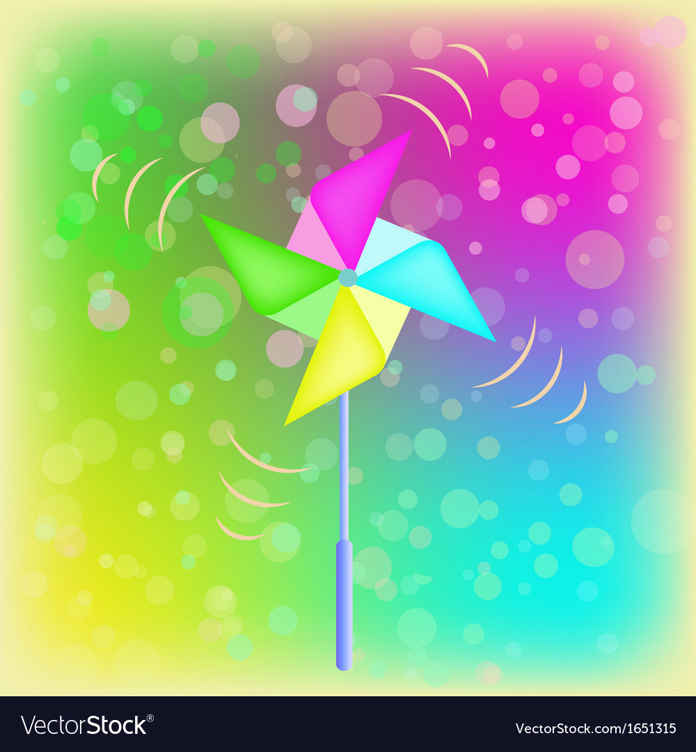 Weather vane in a shape of flower vector | Price: 1 Credit (USD $1)