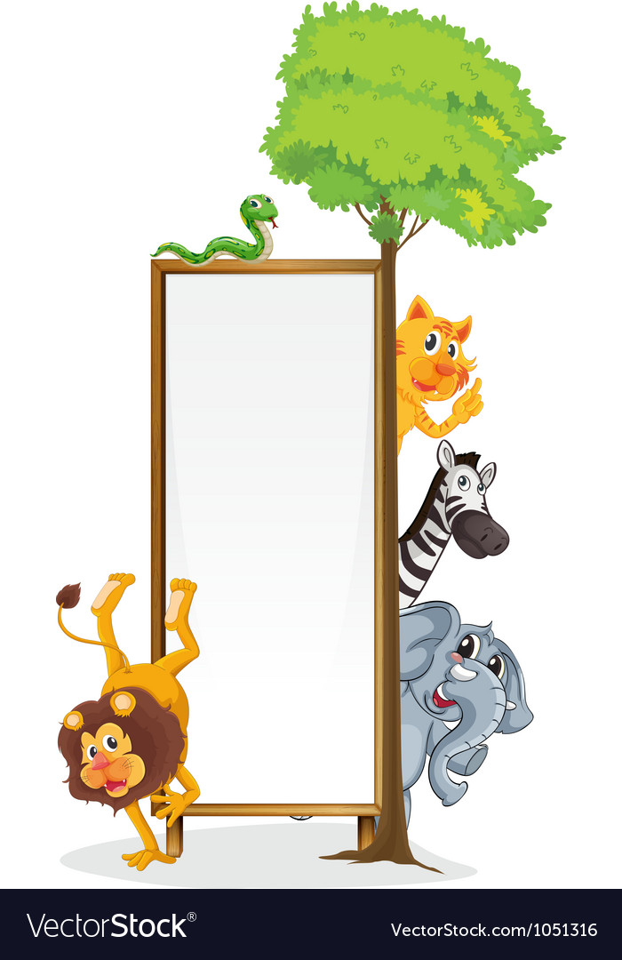 Animal frame vector | Price: 3 Credit (USD $3)