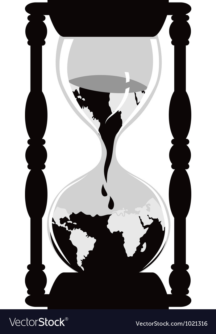 Earth hourglass vector   Price: 1 Credit (USD $1)