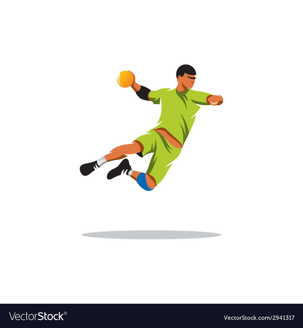 Handball sign vector | Price: 1 Credit (USD $1)