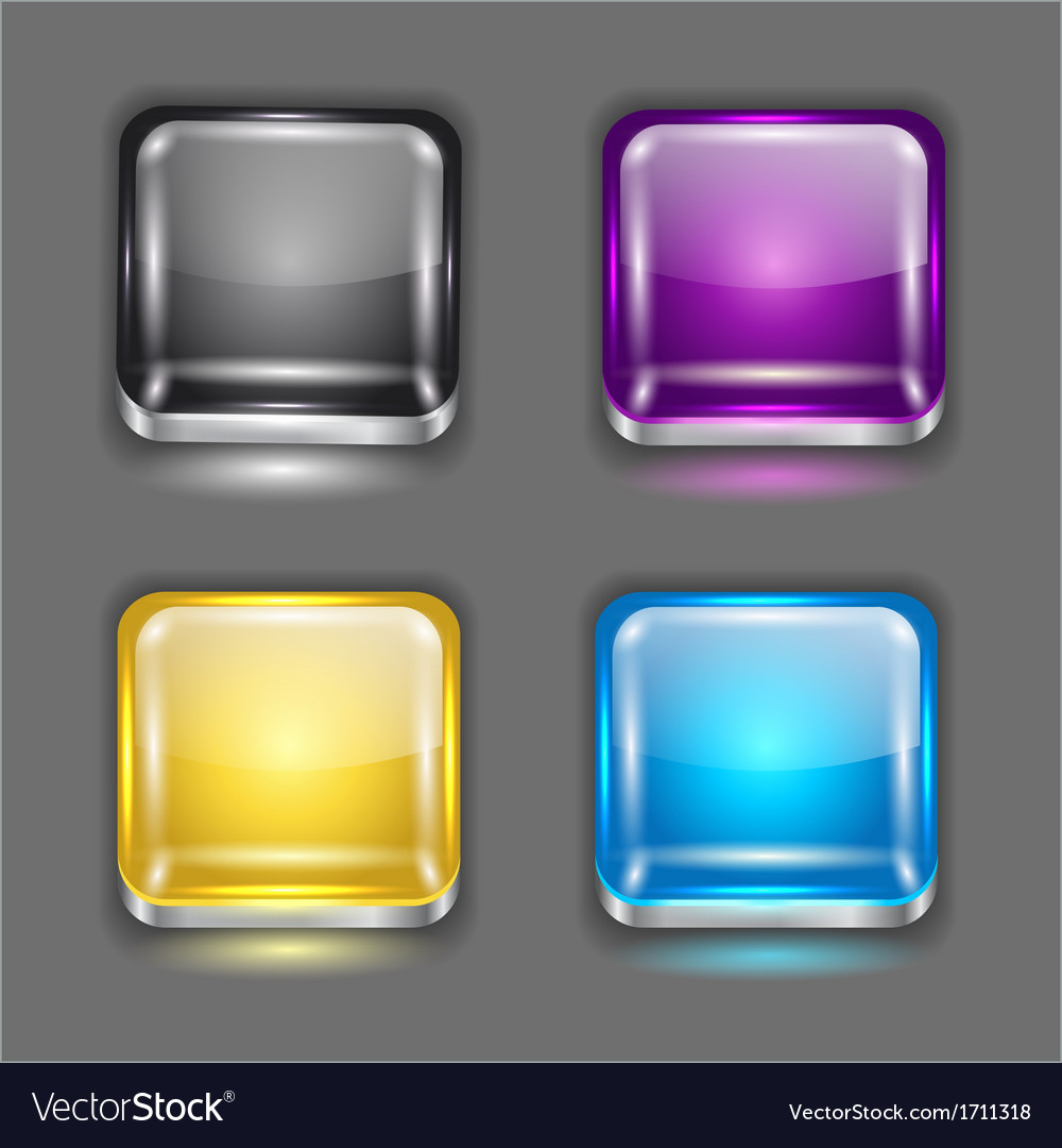 App buttons vector | Price: 1 Credit (USD $1)