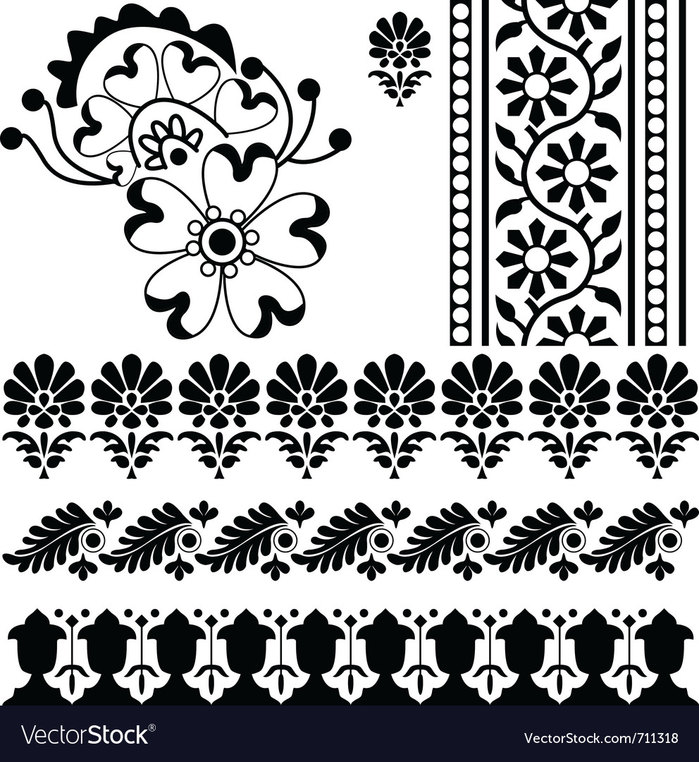 Indian ornaments vector | Price: 1 Credit (USD $1)
