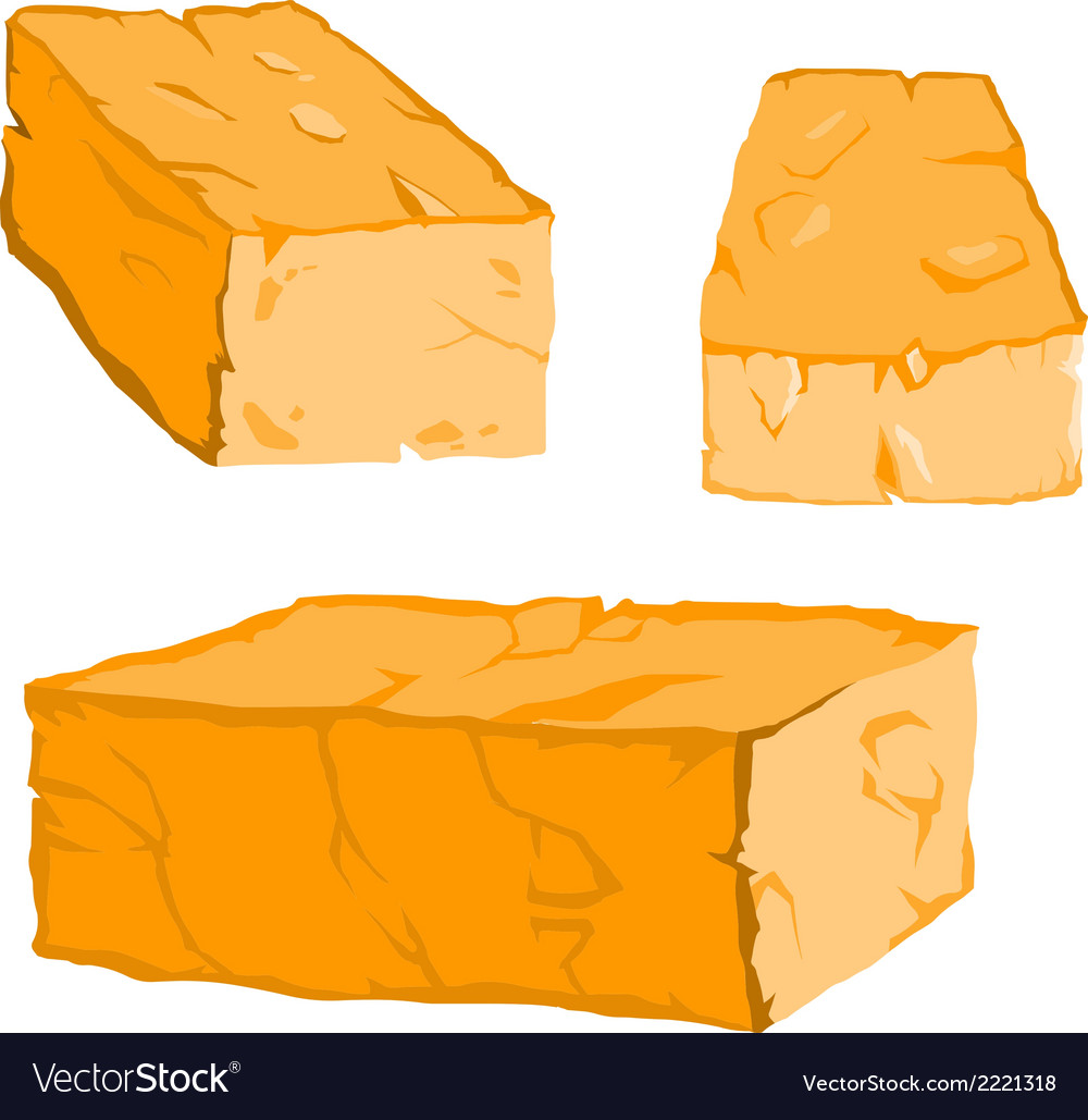 Solid square stones vector | Price: 1 Credit (USD $1)