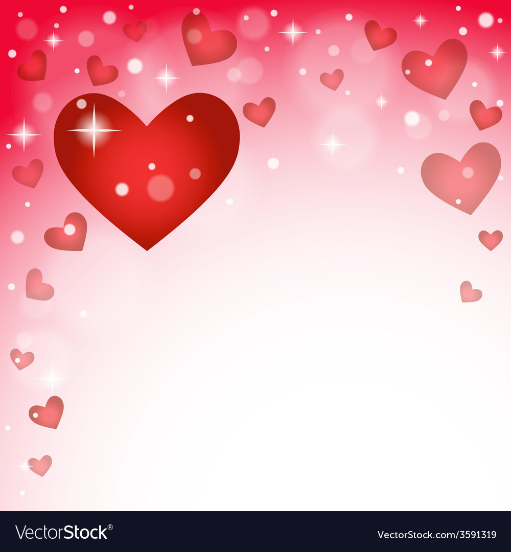 Abstract background to the valentine s day vector   Price: 1 Credit (USD $1)