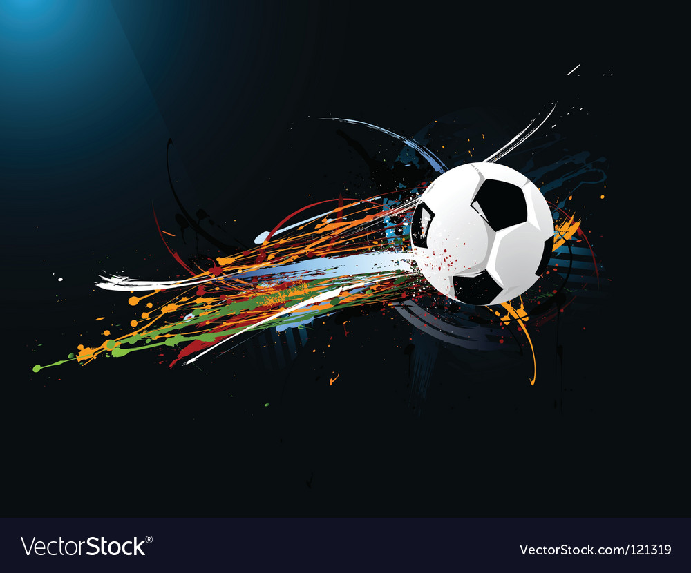Abstract football vector | Price: 1 Credit (USD $1)