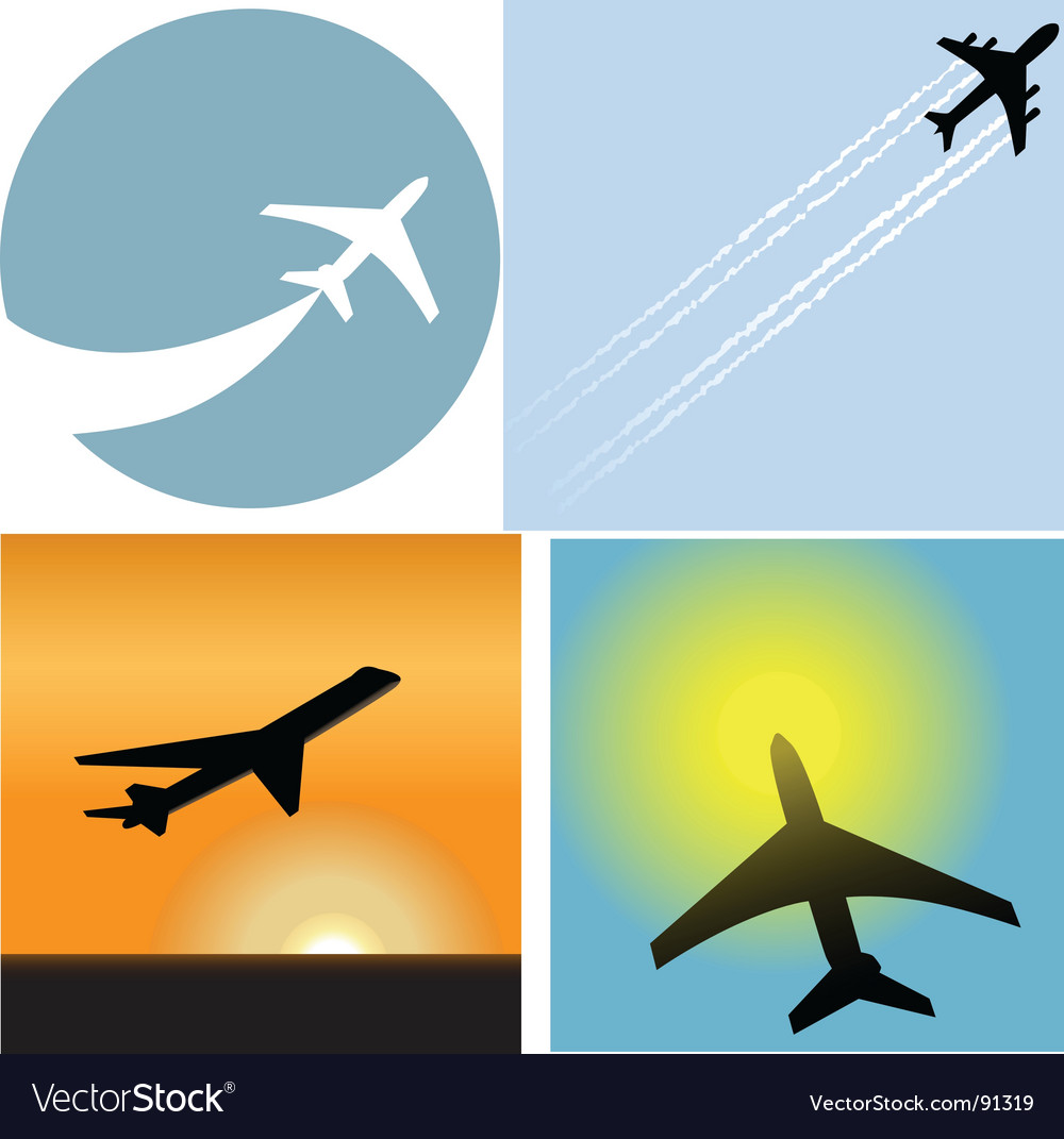 Airline travel passenger vector | Price: 1 Credit (USD $1)