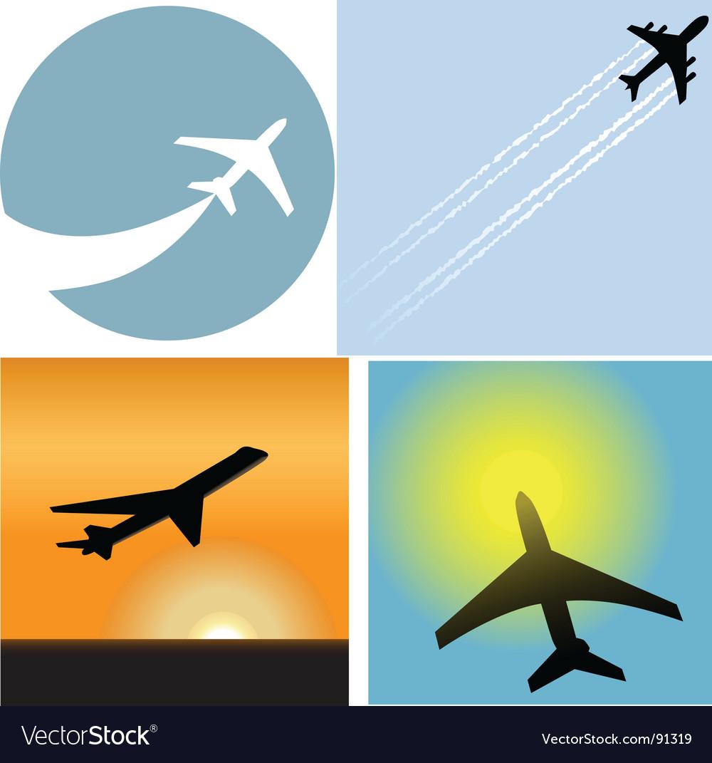 Airline travel passenger vector | Price: 1 Credit (USD $1)