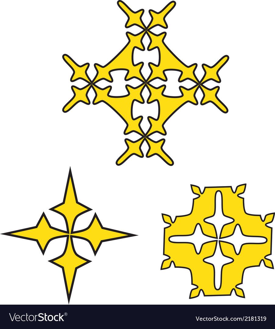 Crosses vector | Price: 1 Credit (USD $1)
