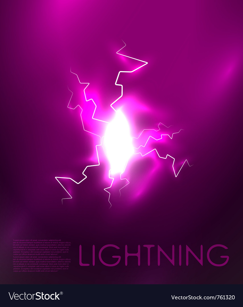 Abstract lighning background vector | Price: 1 Credit (USD $1)