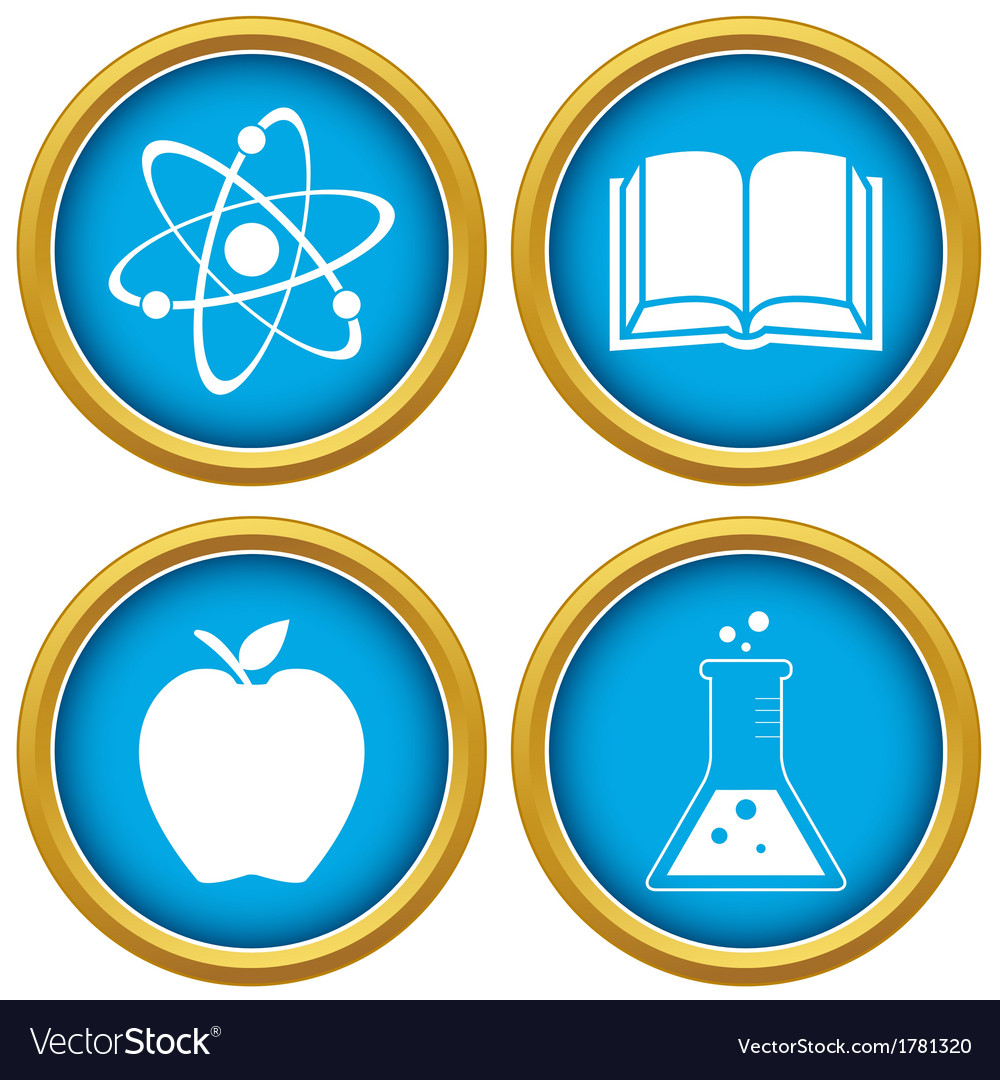 Set on a scientific subject vector | Price: 1 Credit (USD $1)