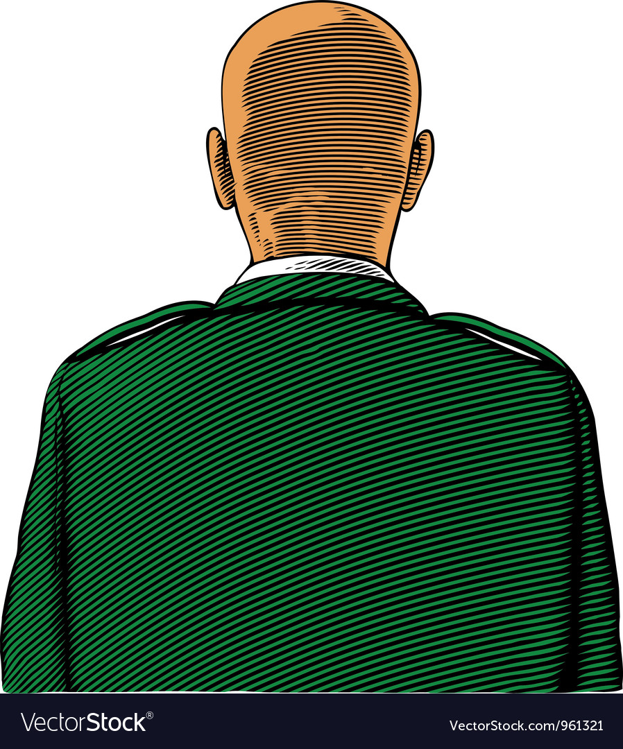 Bald soldier vector | Price: 1 Credit (USD $1)