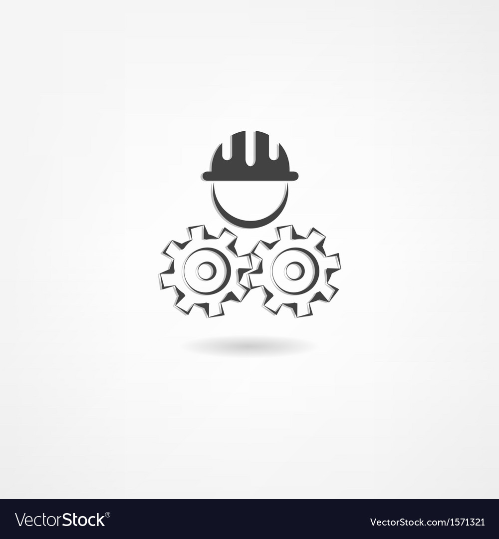 Engineer icon vector | Price: 1 Credit (USD $1)