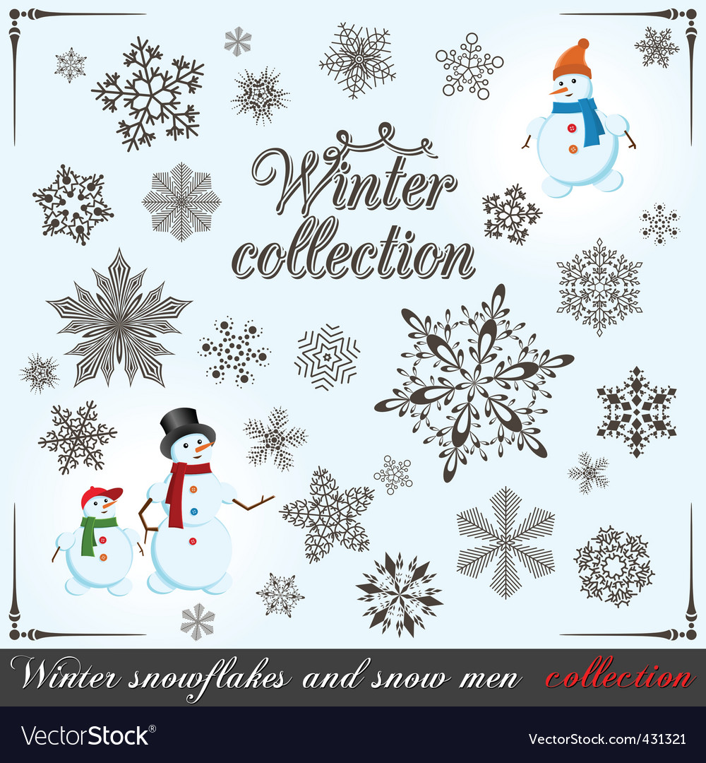 Winter collection vector | Price: 1 Credit (USD $1)