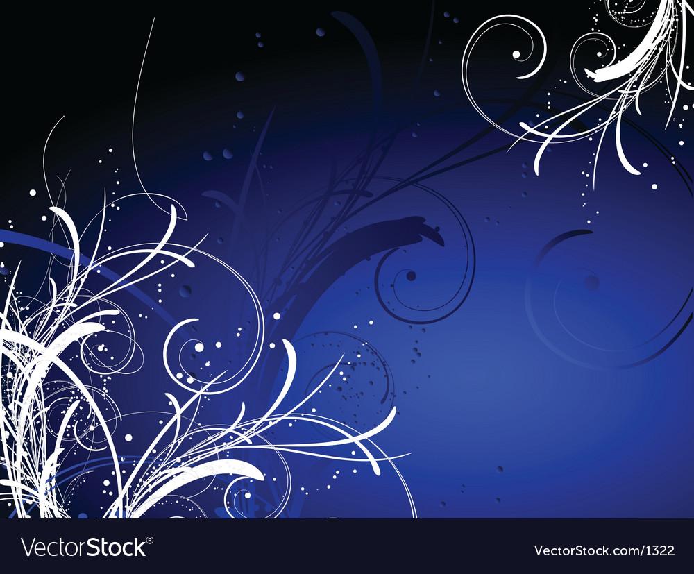 Decorative winter background vector | Price: 1 Credit (USD $1)