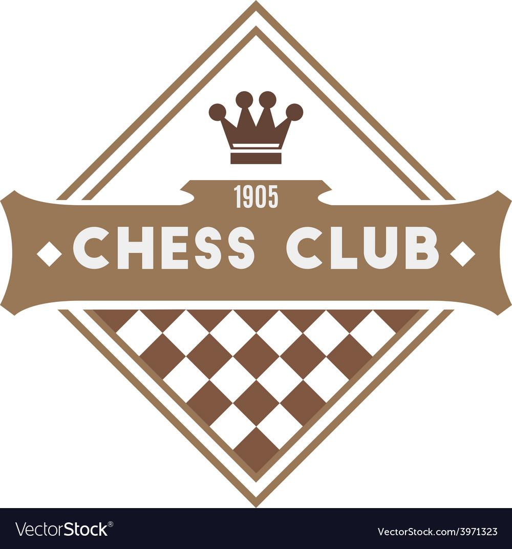 Chess club vector | Price: 1 Credit (USD $1)