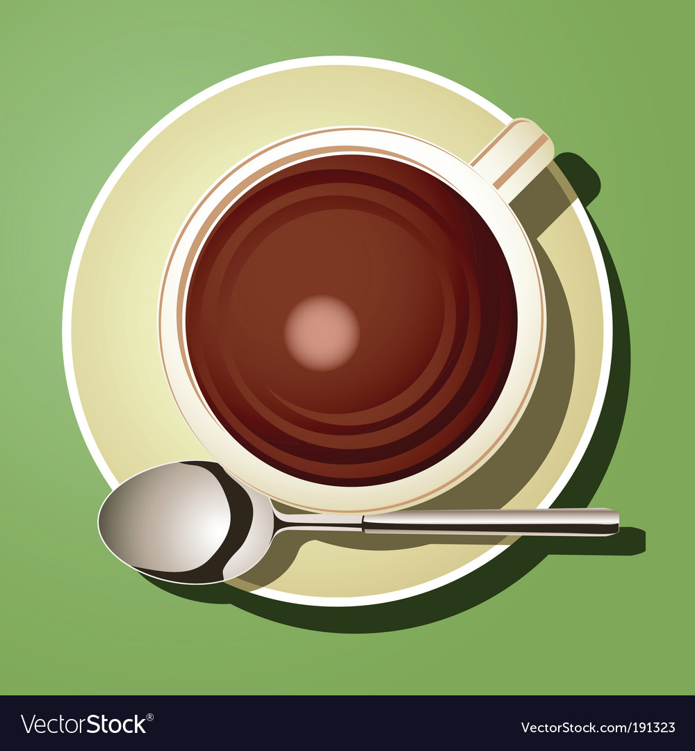 Cup of hot chocolate vector | Price: 1 Credit (USD $1)