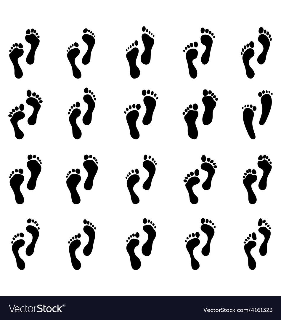 Human feet vector | Price: 1 Credit (USD $1)