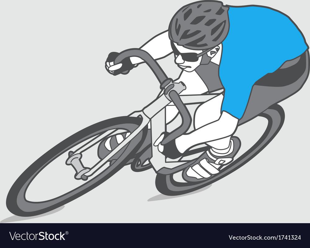 Biker vector | Price: 1 Credit (USD $1)