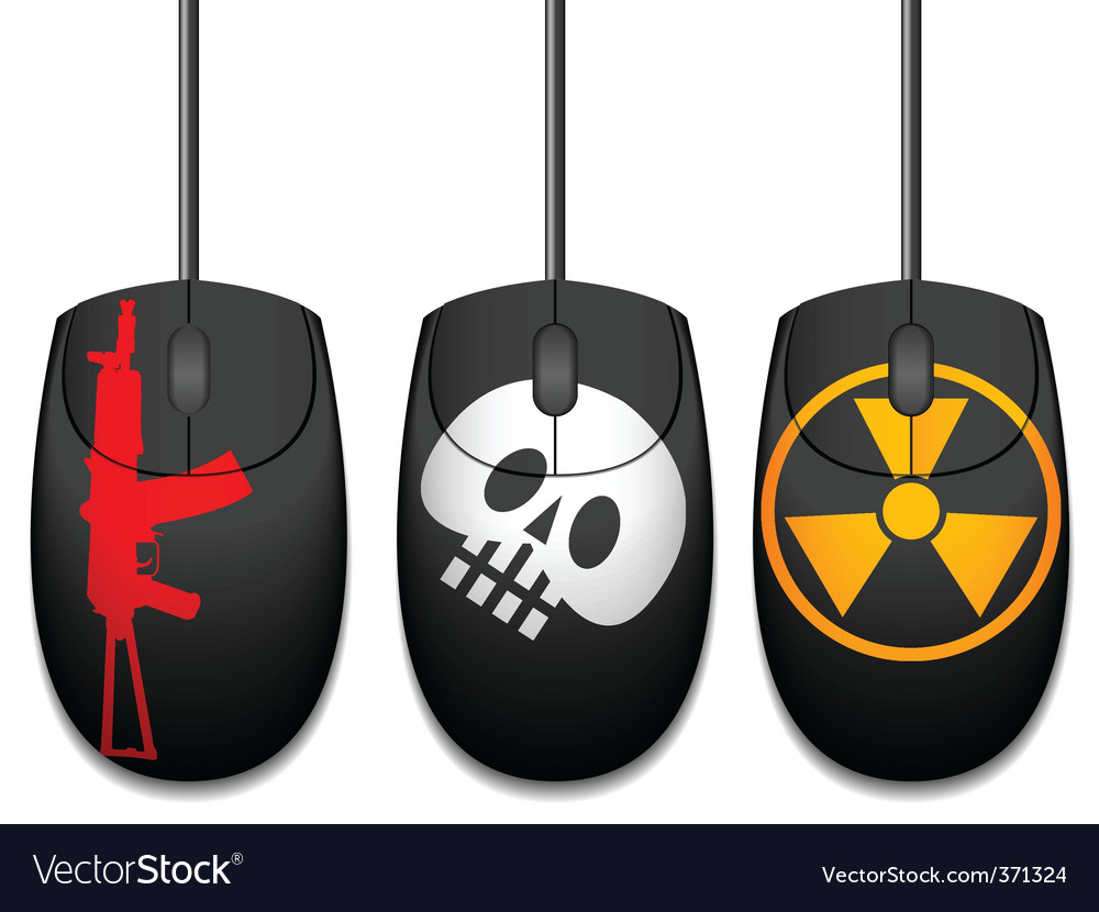 Computer mice vector | Price: 1 Credit (USD $1)