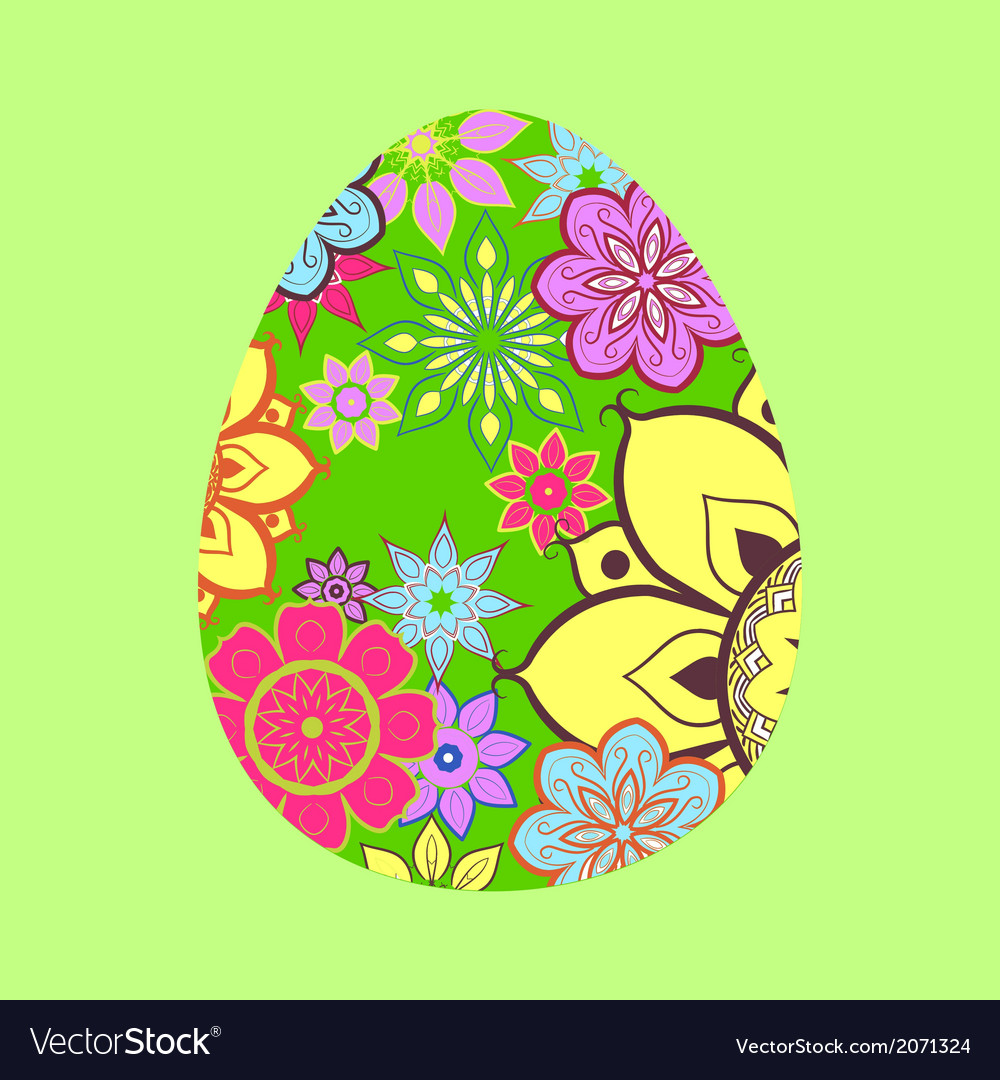 Easter funny egg vector | Price: 1 Credit (USD $1)