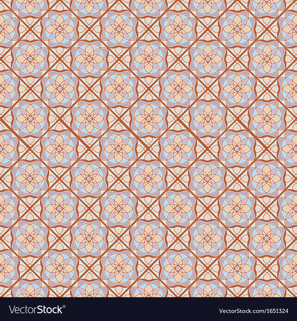 Mosaic abstract background vector | Price: 1 Credit (USD $1)
