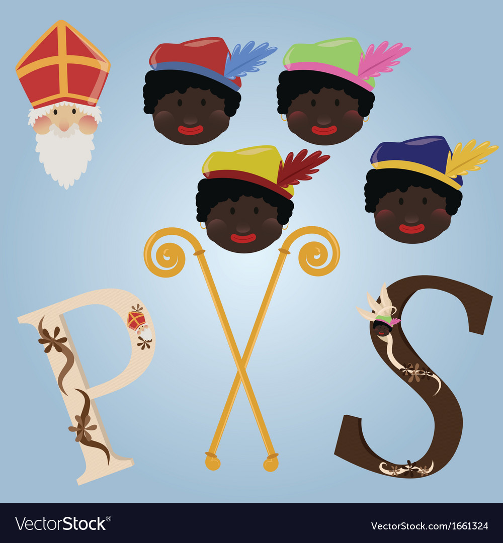 Sinterklaas set vector | Price: 1 Credit (USD $1)