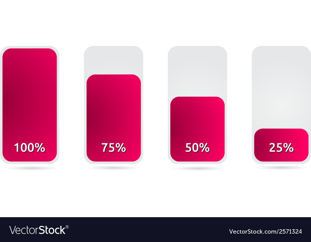 Statistic graph with pink color vector | Price: 1 Credit (USD $1)