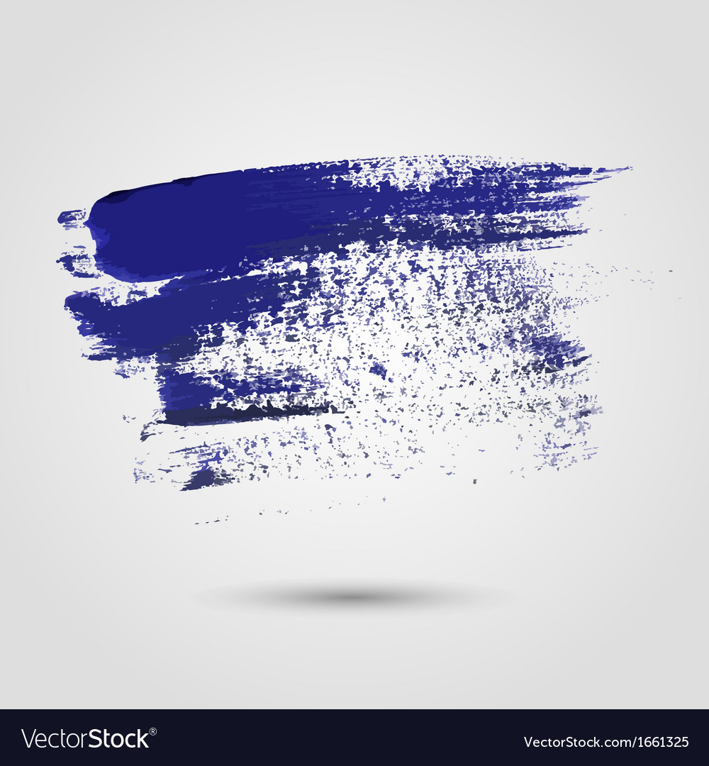 Blue paint strokes vector | Price: 1 Credit (USD $1)