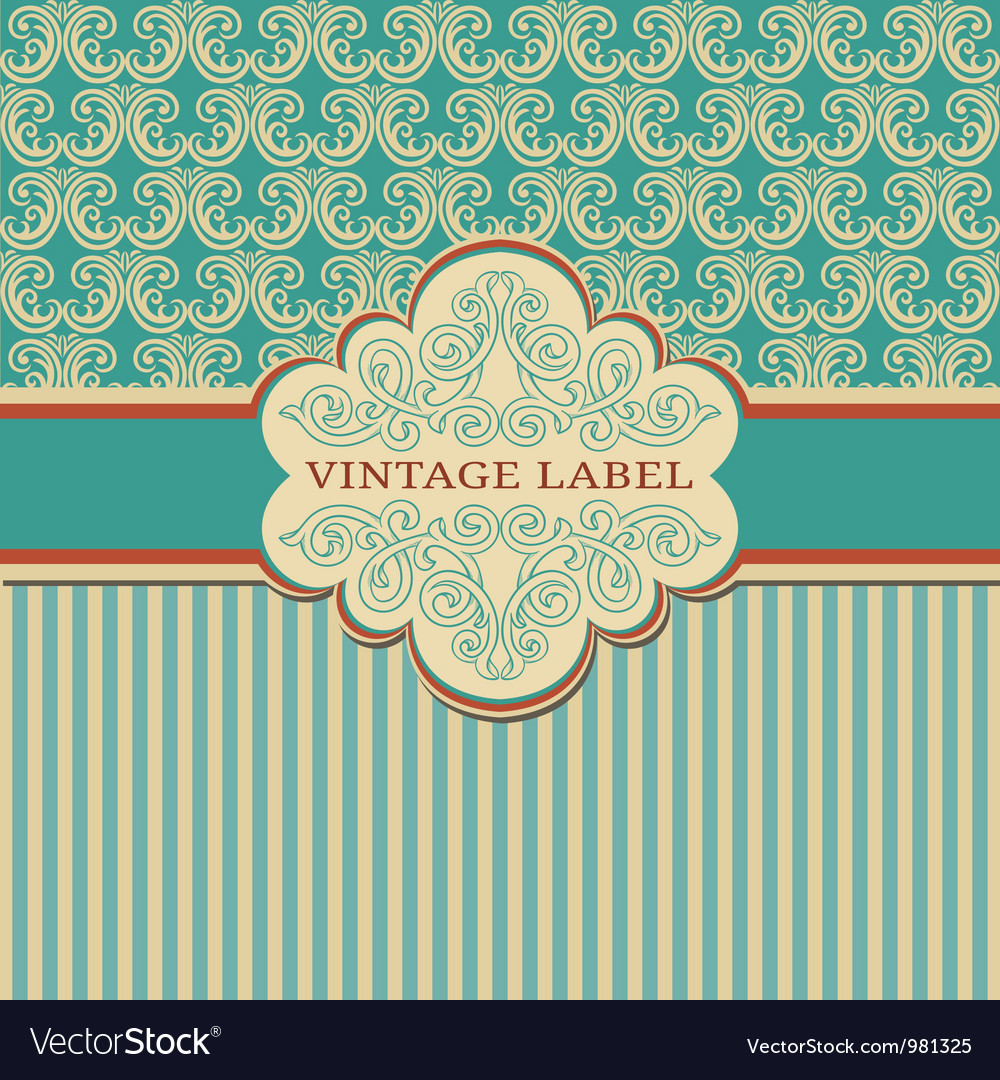 Elegant vintage frame vector | Price: 1 Credit (USD $1)