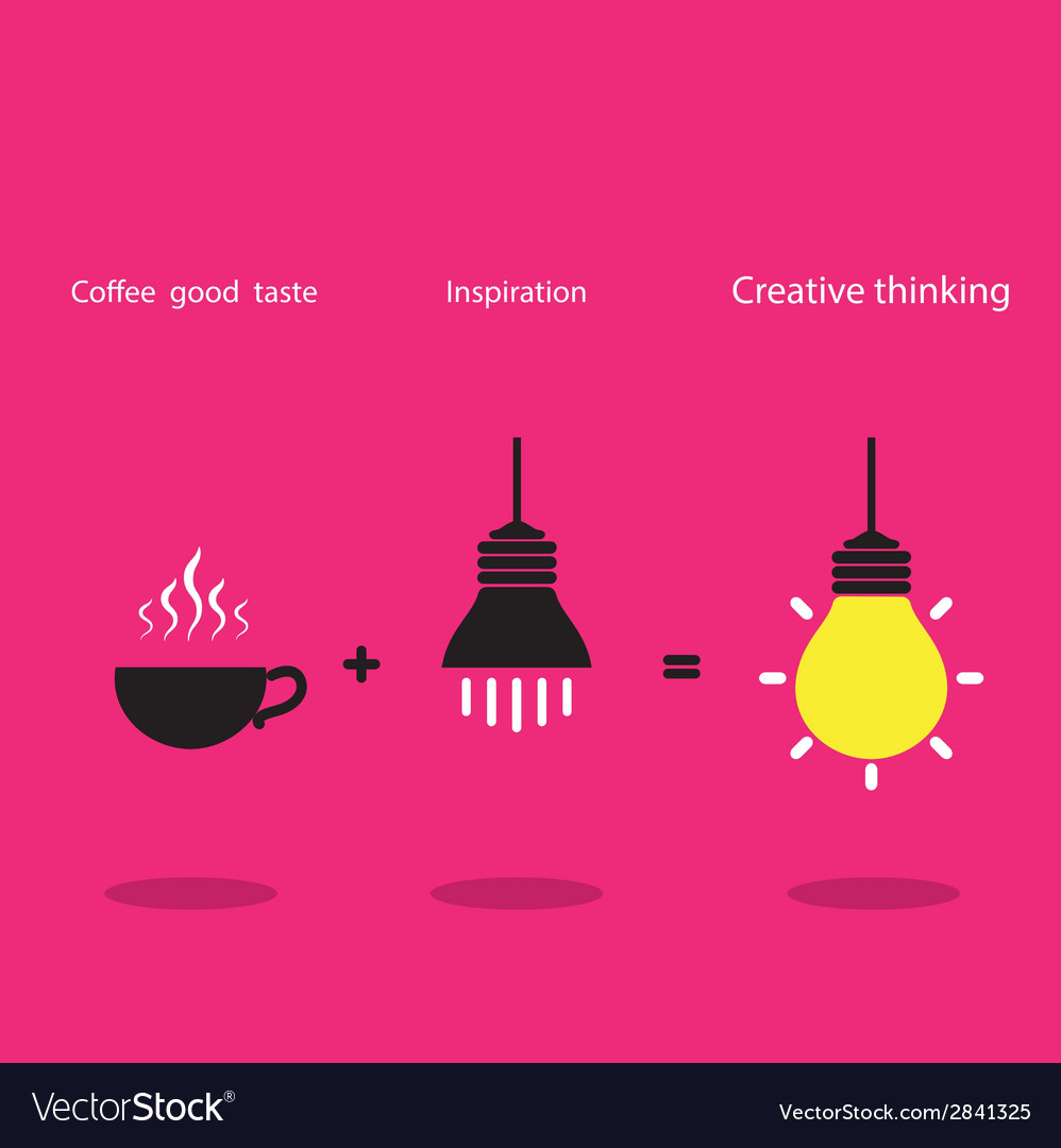 The good idea concept vector | Price: 1 Credit (USD $1)
