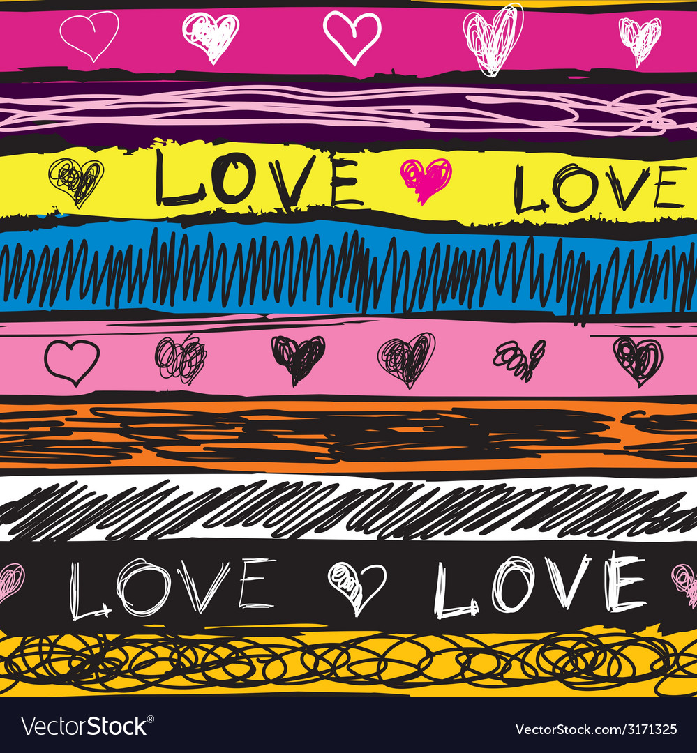 Grunge love vector | Price: 1 Credit (USD $1)