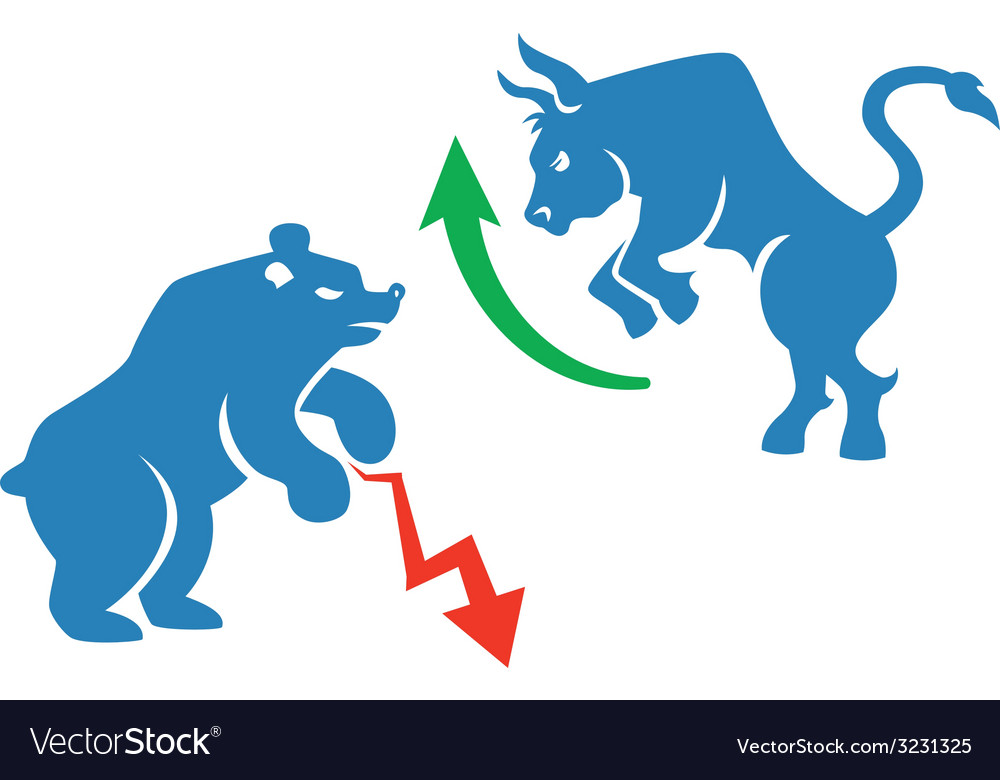 Stock market icons vector | Price: 1 Credit (USD $1)