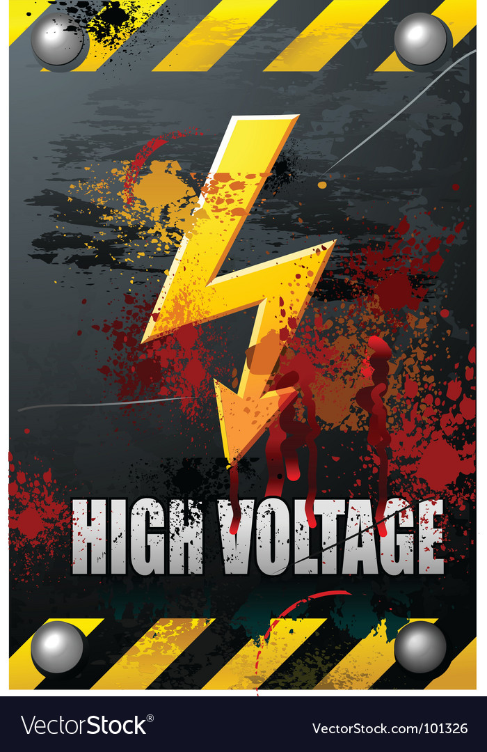 High voltage vector | Price: 1 Credit (USD $1)