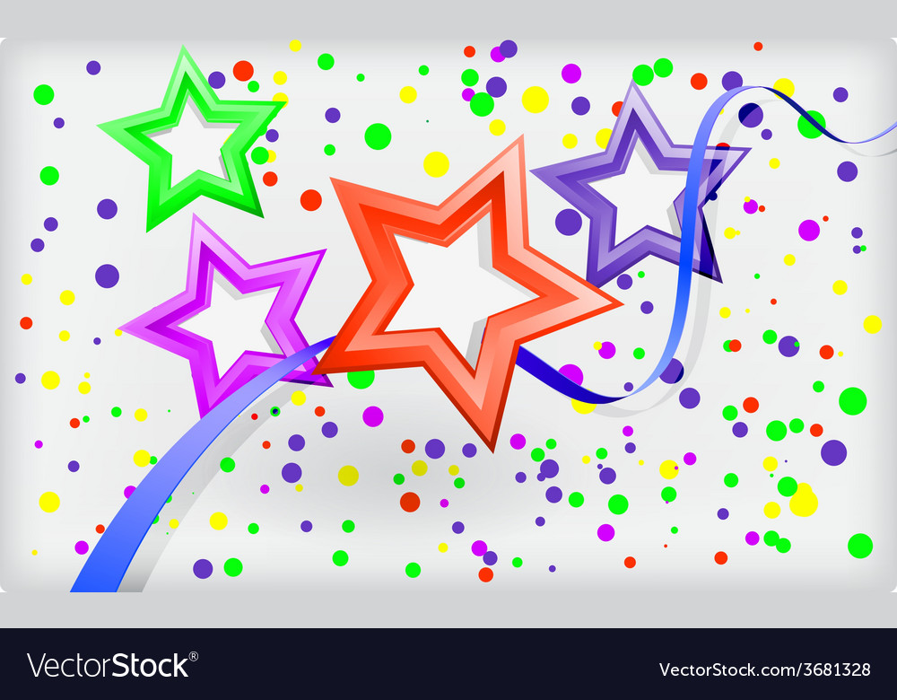 Abstract holiday background with stars and vector   Price: 1 Credit (USD $1)