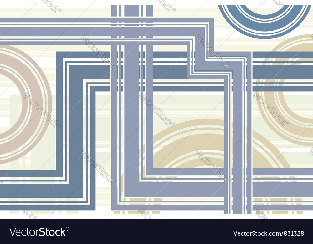 Abstract lines circles background vector | Price: 1 Credit (USD $1)