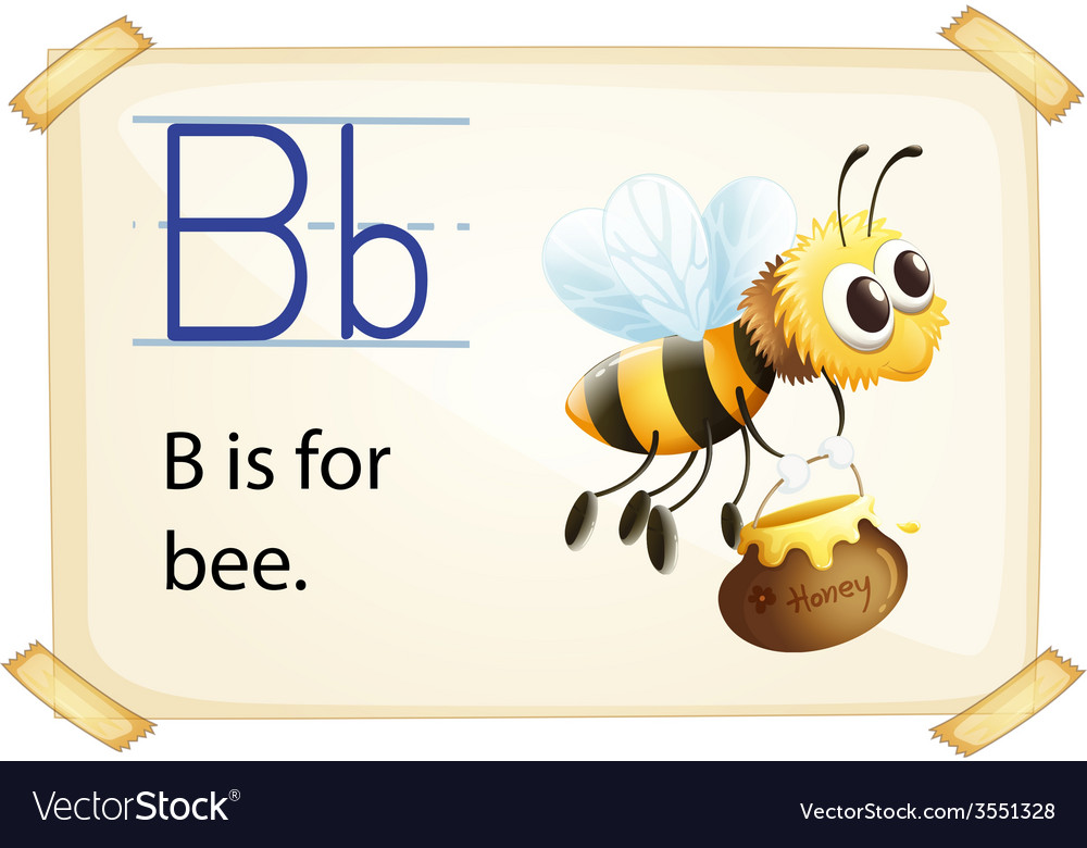 Alphabet b vector | Price: 1 Credit (USD $1)