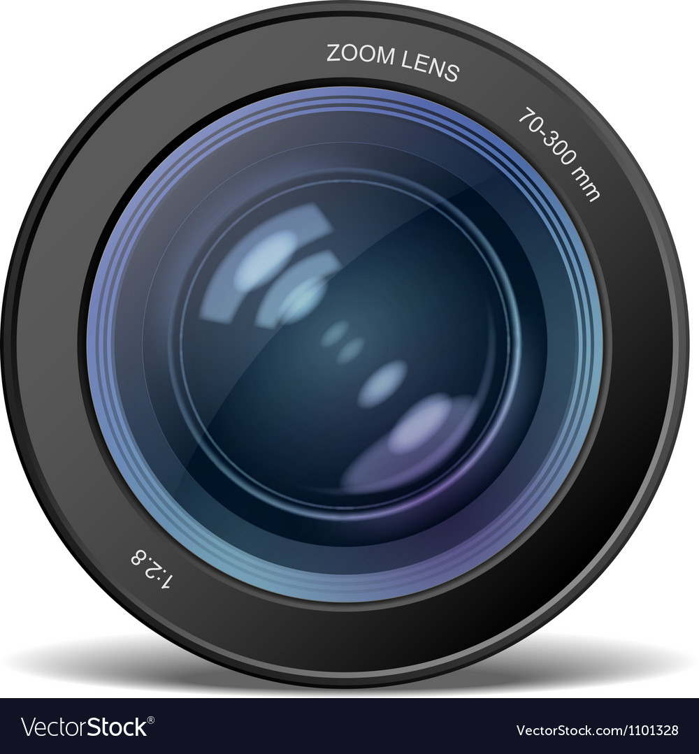 Camera lens vector | Price: 3 Credit (USD $3)