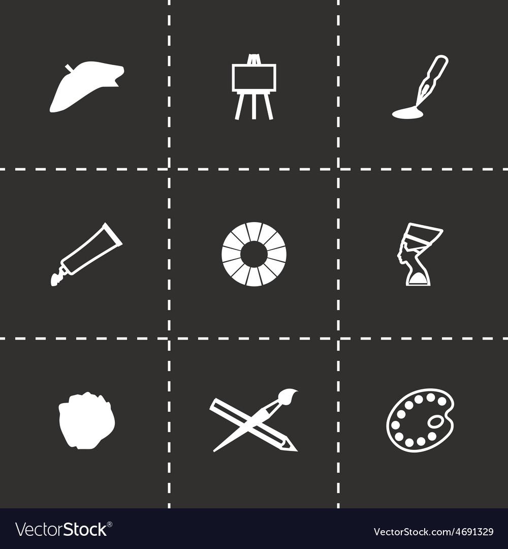 Art icon set vector | Price: 1 Credit (USD $1)