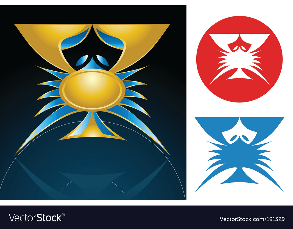 Cancer sign vector | Price: 1 Credit (USD $1)