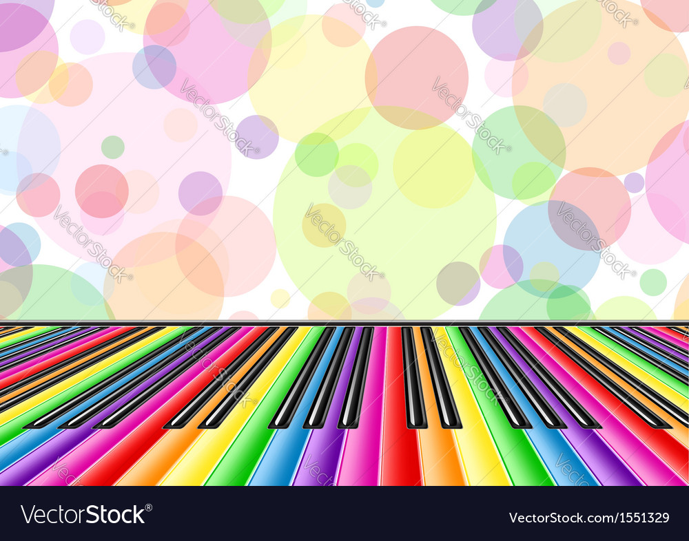 Musical background with a piano keyboard and vector | Price: 1 Credit (USD $1)