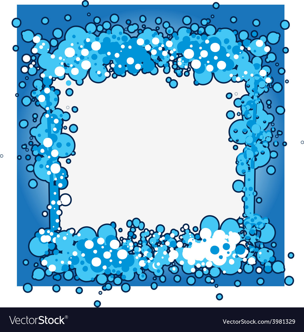 Ocean blue screen vector | Price: 1 Credit (USD $1)