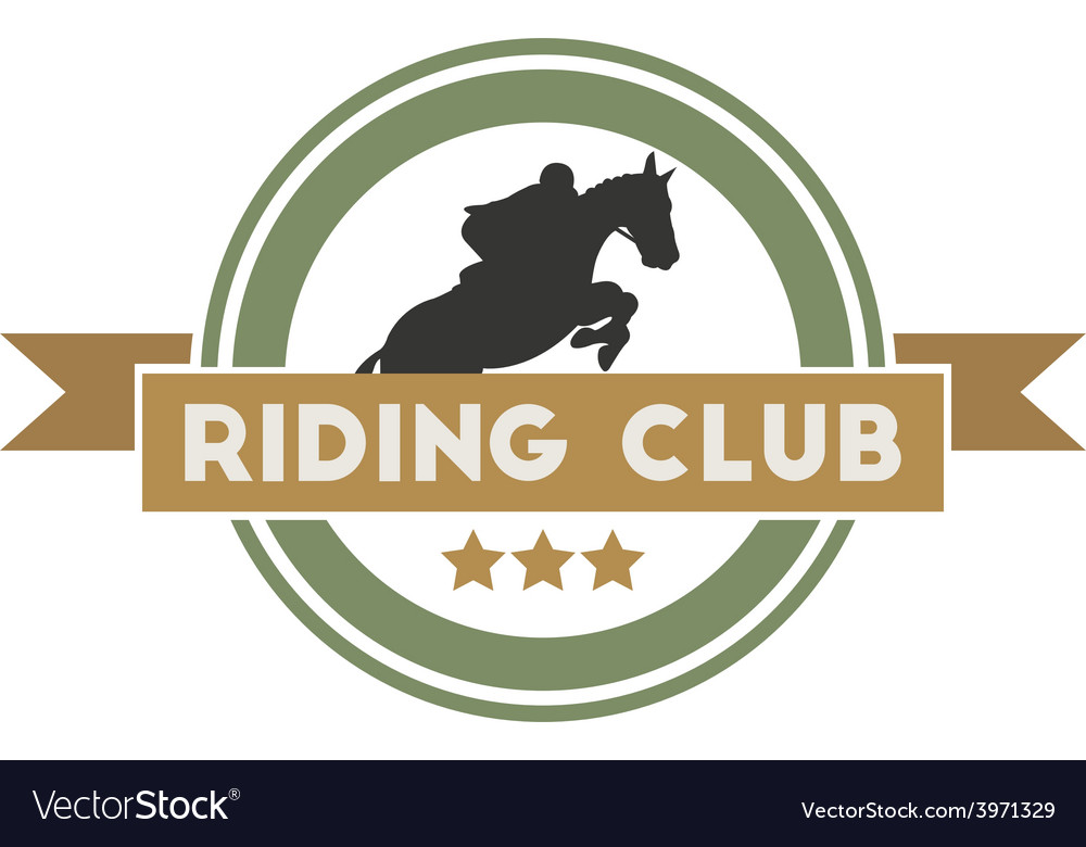 Riding club vector | Price: 1 Credit (USD $1)