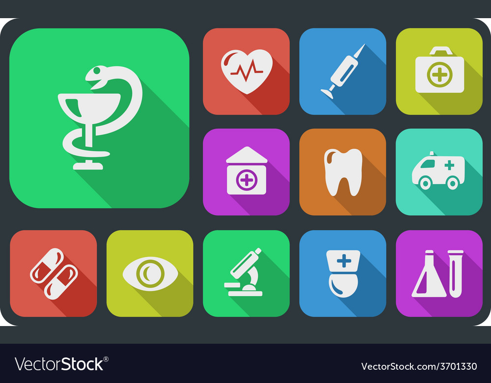 Medical buttons vector   Price: 1 Credit (USD $1)