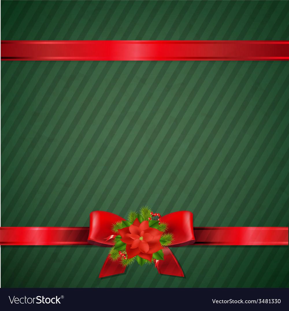 Retro green christmas wallpaper vector   Price: 1 Credit (USD $1)