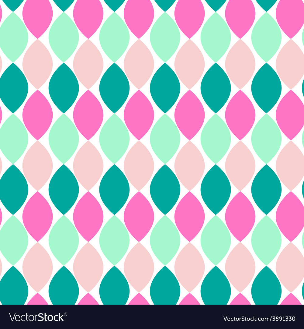Retro style abstract seamless pattern vector | Price: 1 Credit (USD $1)