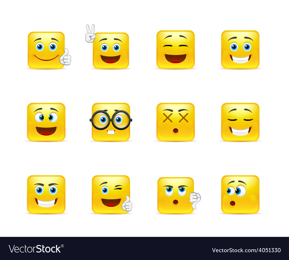 Smiley pack vector | Price: 1 Credit (USD $1)