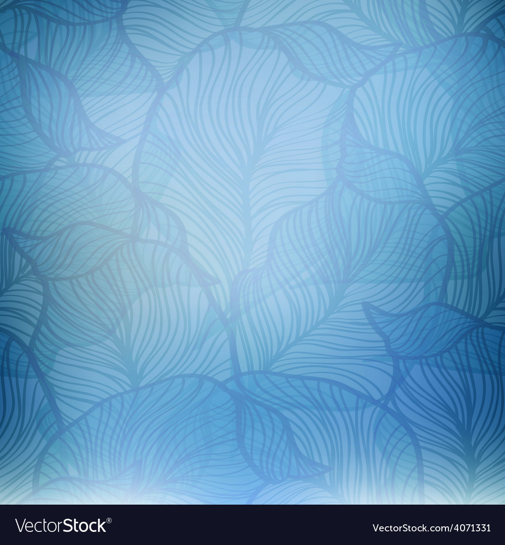 Abstract blue vintage background vector | Price: 1 Credit (USD $1)