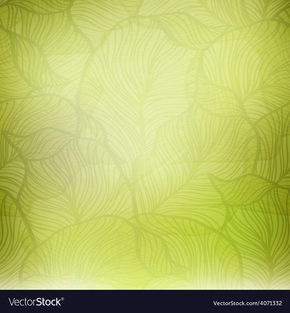 Abstract green vintage background vector | Price: 1 Credit (USD $1)
