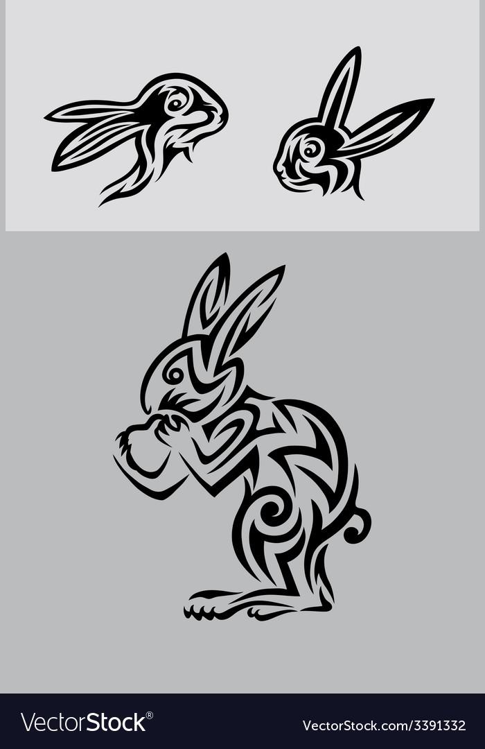Rabbit set vector   Price: 1 Credit (USD $1)